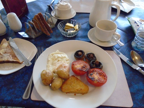 Welsh breakfast minus bangers