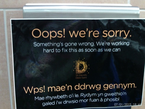 Whps sign in Welsh