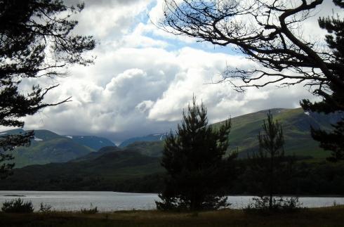 Ardverikie lake, storm coming, MP Renfrew