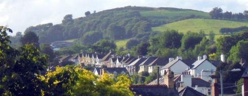 Brecon hill, houses, MP Renfrew 7-5-15