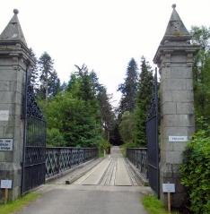 Gate to Ardverikie
