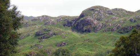 Glacial hills 1, Loch view trail , MP Renfrew