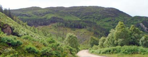 Glacial hills, Loch view trail , MP Renfrew