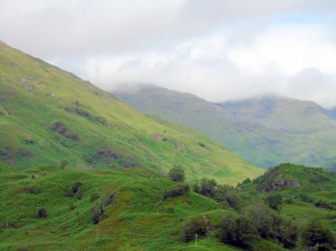 Loch view trail near end, ,MP Renfrew