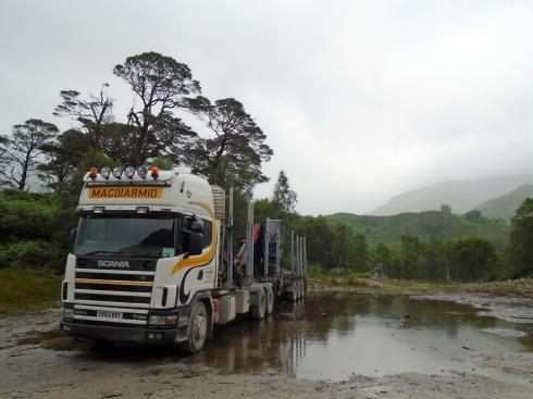 MacDiarmid truck, Loch view trail , MP Renfrew