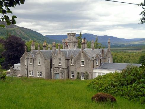 Old MacPherson estate, Glentruim, Scotland, MP Renfrew
