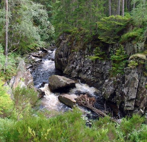 Spey tributary rapids near Ardverikie, MP Renfrew