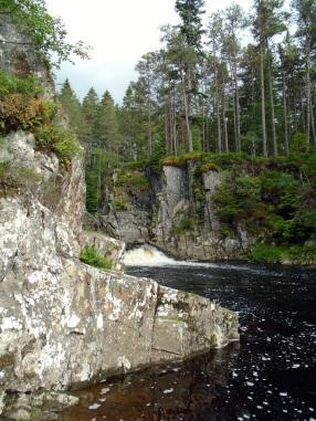 Waterfall near Laggan