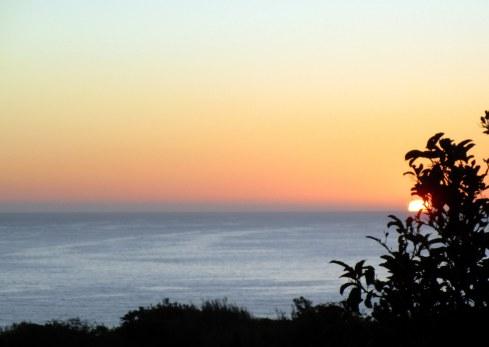 Ocean Trails sunset, MP Renfrew 11-1-15