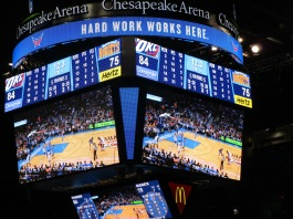 OKC Thunders game 10-18-15