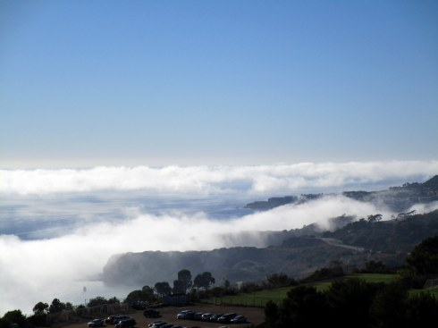 PV Peninsula in Fog, 11-1-15 Dr Renfrew