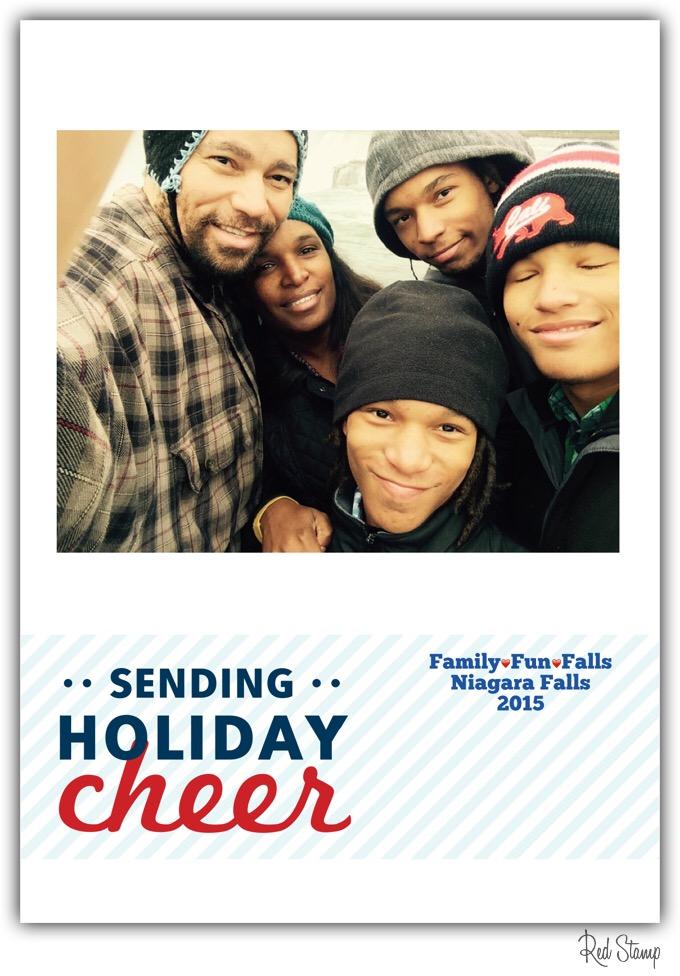 Former student Elroy Johnson sent his family\'s Christmas card ...