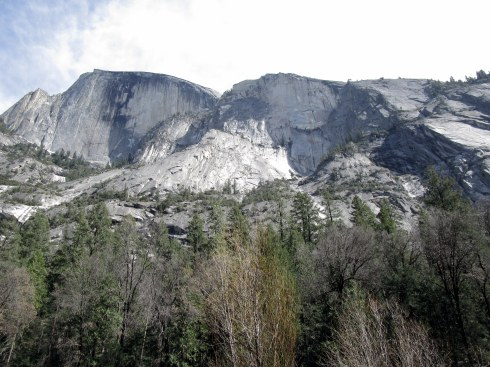 Below Half Dome, 4-16, MP Renfrew