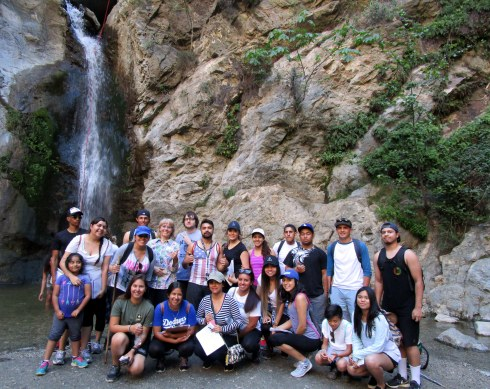 Eaton waterfall, LAHC Geography, Dr. Renfrew 4-17-16