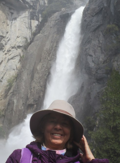 Melanie, Yosemite Falls 4-16