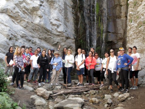 Millard Cyn waterfall, LAHC Geography 4-22-16 Dr. MP Renfrew