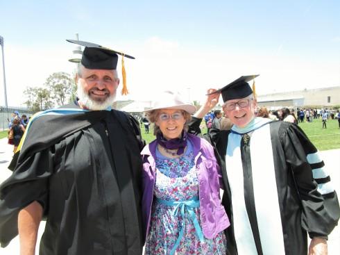 ASO Prof. Gary Gonzales, Dr. Melanie Renfrew, Dr. Bill Lauterman