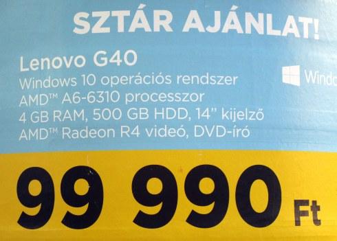 Hungarian Lenovo, Budapest, MPR