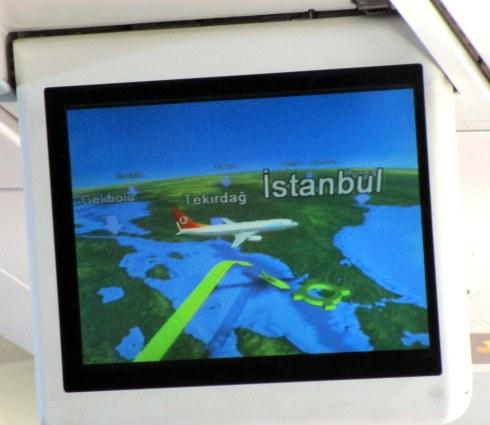 Istanbul landing at Ataturk, MP Renfrew