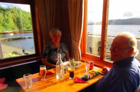 Jo & Ian at Loch Insh, MPR 6-21-16