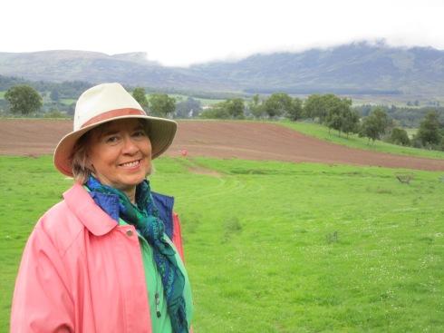 Melanie in Newtonmore, 6-16