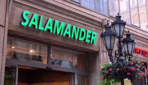 Salamander store, Budapest, MP Renfrew