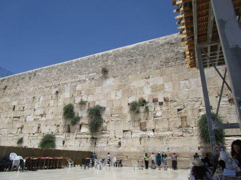 Jeusalem Western Wall, MP Renfrew 6-25-16
