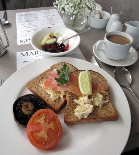 Salmon Marmaduke's breakfast, York MP Renfrew 6-16