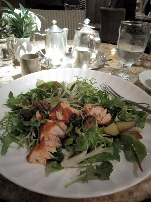 Salmon salad Bettys Tea Room York MP Renfrew 6-16