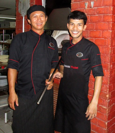 Thai chefs, Kamala, MP Renfrew 7-16