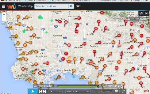 Wundermap 7-12-16 L.A. heat