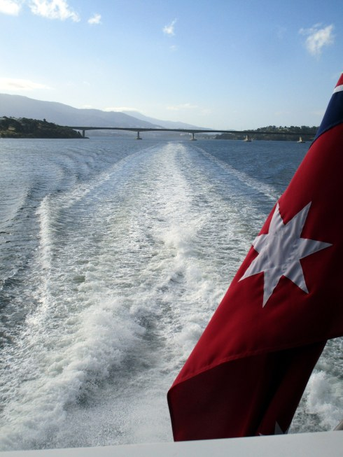 hobart-ferry-wake-tasmanian-flag-mp-renfrew