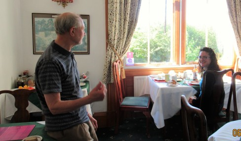 Bernie & Heather, Sondheim Guesthouse Kingussie 1