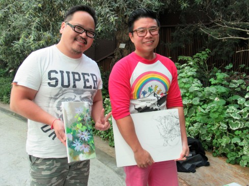 Botanical artists in Singapore