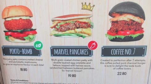 Singapore burgers, Port-o-Bomb