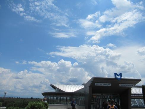 Sofia metro station