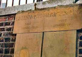 Greenwich Prime Meridian wall