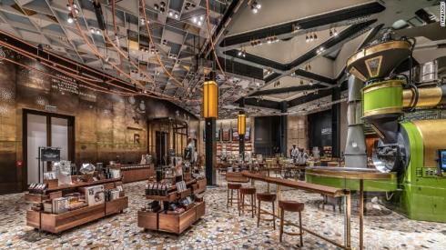 Starbucks roastery opening in Milan, Italy